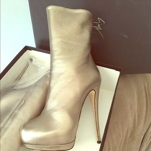 Size 39 Booties worn twice only ..